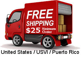 Free Shipping to United States/Puerto Rico/US Virgin Islands